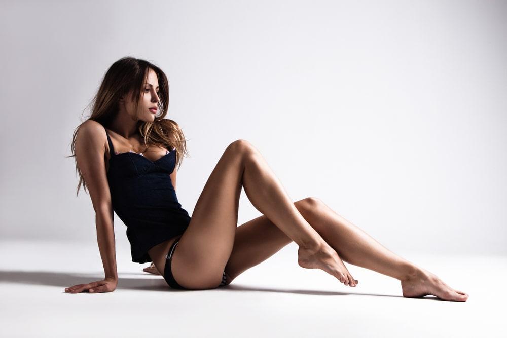 Kobieta po zabiegu waginoplastyki